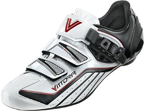 Vittoria Zoom Road Cycling Shoes (45 M EU / 11 D(M) US, White)