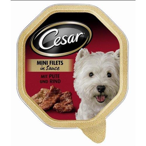 Cesar | Landküche mit Pute & Rind in Sauce | 24 x 150 g