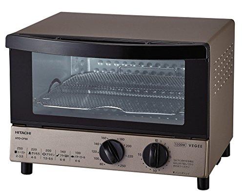 日立 オーブントースター 1,200W 角型パン4枚焼き 無段階温度調節機能 HTO-CF50 N