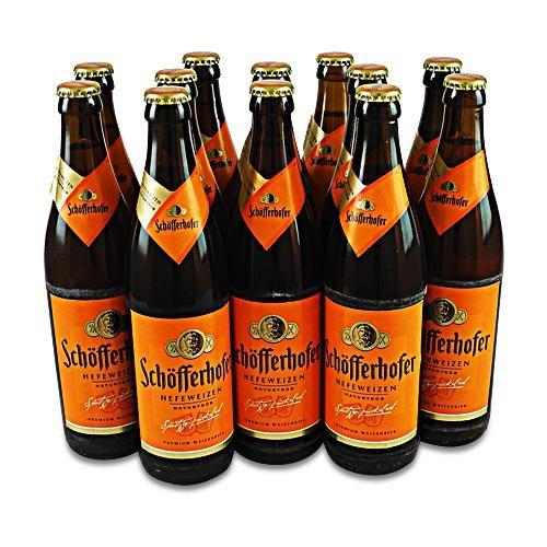Schöfferhofer Weizen naturtrüb (12 Flaschen à 0,5 l / 5,0% vol.)