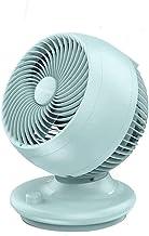 Ventilateur de table, bureau portable lumière du ventilateur 3 lames de bureau Circulation de l'air du ventilateur Bouton ...