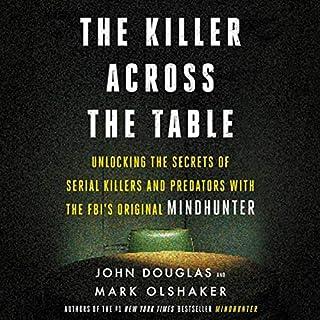 The Killer Across the Table audiobook cover art