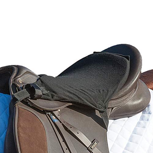 Cashel English Tush Cushion for Horse Saddle (Black, 3/4)