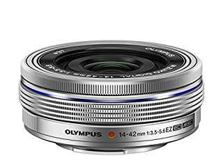 Olympus M.Zuiko Objectif Digital 14-42mm F3.5-5.6 EZ, zoom standard, compatible tout appareil Micro 4/3 (modèles Olympus OM-D & PEN, Panasonic G-series), Argent (B00I0TUNZA) | Amazon price tracker / tracking, Amazon price history charts, Amazon price watches, Amazon price drop alerts
