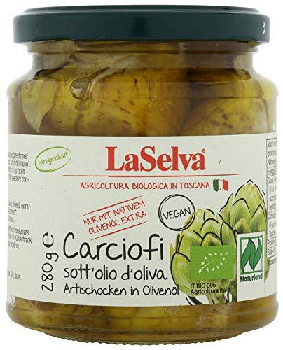 LaSelva Artischocken in Olivenöl, 280 g