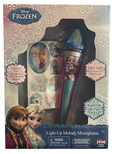 Frozen Sparkling Ice Light Up Melody Microphone -  Disney, 49124