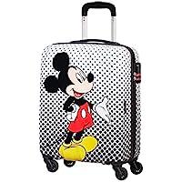 American Tourister Disney Legends Spinner S Equipaje de Mano Infantil, 55 cm, 36 L, Multicolor (Mickey Mouse Polka Dot)