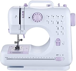Sewing Machines Electric, Sewing Machines for Beginners Overlocker Machine, 12 Built in Stitches, with Extension Table Foo...