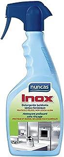 Nuncas Italia S.p.A. Nettoyant Lustrant Protecteur pour Acier Inoxydable Spray de 500 ml