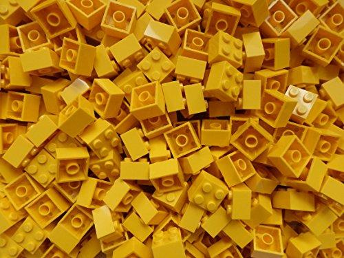 LEGO Steine 2x2 Noppen (3003) Gelb 50 Stück