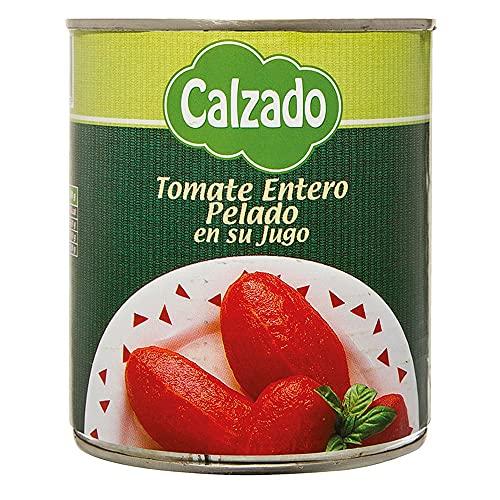Calzado Tomate Entero Pelado En Su Jugo - 780 gr.