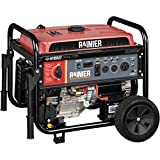 Rainier R12000DF Dual Fuel (Gas and Propane) Portable Generator with Electric Start -...