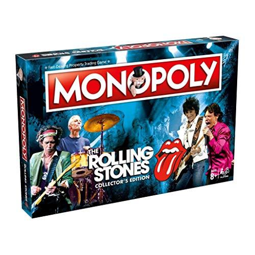 Rolling Stones The Monopoly Giochi di società - Lingua Inglese