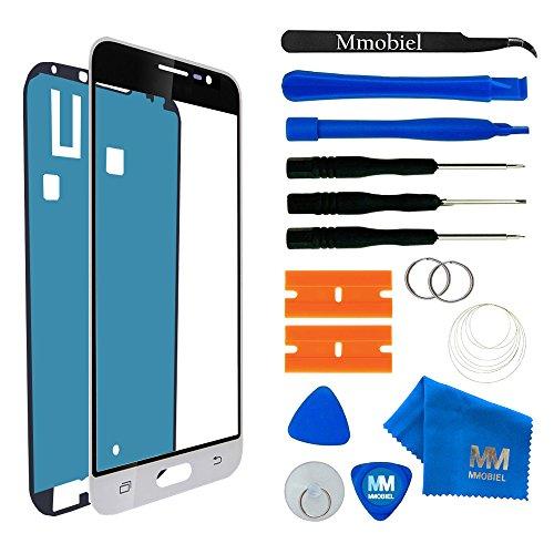 MMOBIEL Kit de Reemplazo de Pantalla Táctil Compatible con Samsung Galaxy J3 J320 (2016) (Blanco) Incl. Kit Herramientas