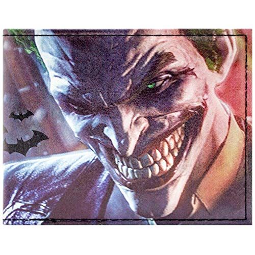 Cartera de DC Comics Batman Joker Multicolor
