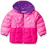 Limited Too Girls' Puffer Jacket, Pink, 4T