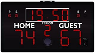 First Team FT810 Portable Scoreboard with Cable Controller