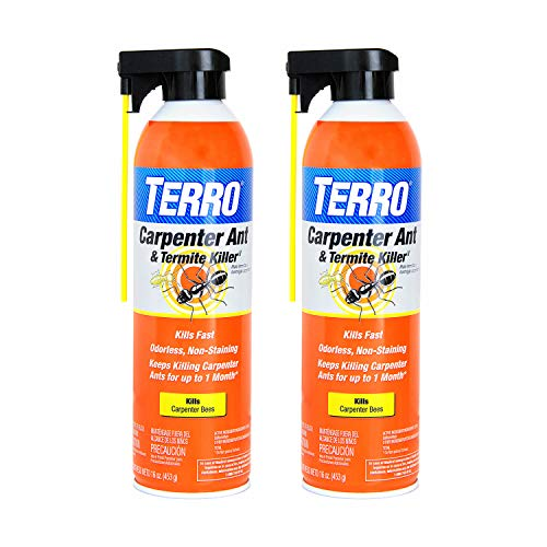 TERRO T1901SR Carpenter Ant & Termite Killer-2 Pack, White
