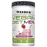 Weider Vegan Diet Meal Fresa 540 Gr. Sutituto de comida 100% vegano.Sin gluten. Ideal para dieta
