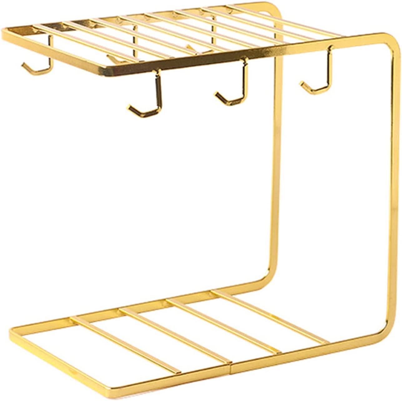 DKBE Stainless Steel All stores are sold Cup Holder Organizer Rack Kitchen Storage Store