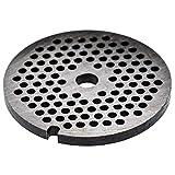 vhbw piastra forata 32, diametro fori 5mm, foro centrale 13,4mm, acciaio per esempio compatibile con ADE, Caso, Fama, KBS, Porkert tritacarne