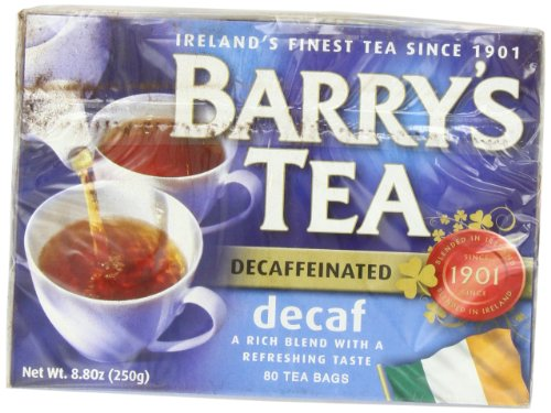 Barry's Tea, Decaffeinated, 80-Count Box