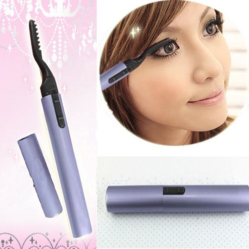 Electric Pen Style Heated Eyelash Curler Beauty Eyes Lashes Maker Lasting Makeup