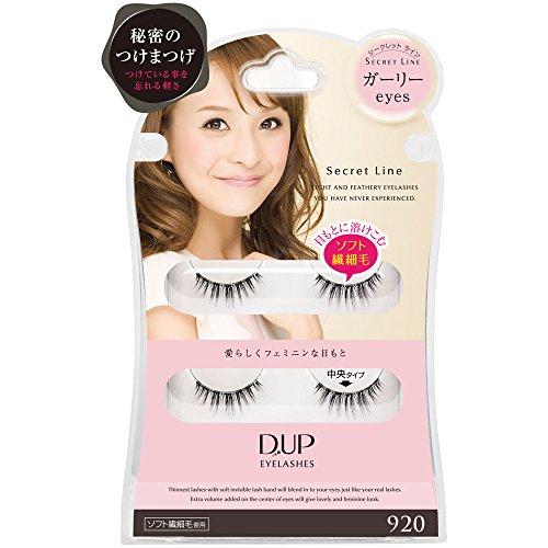 D.U.P Eyelashes Secret line 920 [Badartikel]