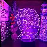 MY HERO ACADEMIA Hawks 3D ANIME LAMP luces de noche Boku no Hero Academia Lampara para lámpara de mesa de Navidad
