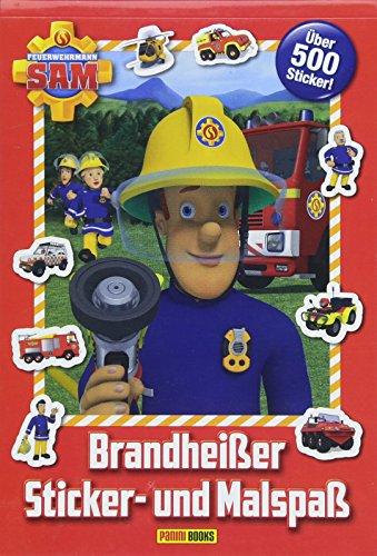 Feuerwehrmann Sam: Brandheißer Sticker- und Malspaß: über 500 Sticker