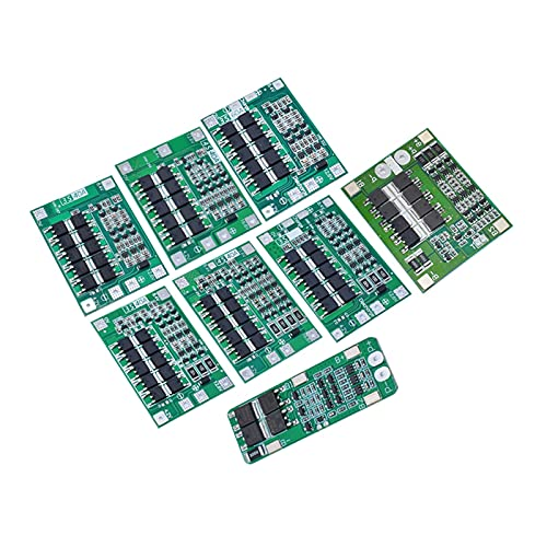 Módulo electrónico Tablero de protección del Cargador de batería de Litio Li-Ion, Motor de perforación Mejora/Equilibrio (Color : 3S 40A Enhance)