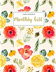 Monthly Bill Planner and Organizer: monthly bill tracker sheets | 3 Year Calendar 2020-2022 Weekly Expense Tracker Bill Organizer Notebook For ... Gifts For Mom (Financial Planner Budget Book)