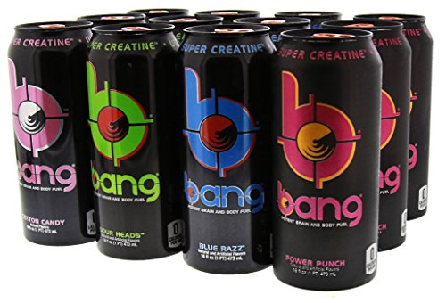 VPX Bang Variety Pack 1 RTD  - 16 Fl. Oz (12 Count) (1 PT) 473 ml