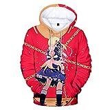 UBUB Anime Sword Art Online Sao der Infinity 3D Hoodie Frühling und Herbst Lose Männer und Frauen mit Kapuze Sweatshirt Lässiger Punk Street Style Trainingsanzug