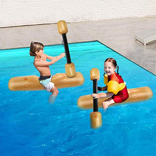 ZJDU Fiesta En La Piscina Juegos De Deportes Acuáticos Junto Al Mar,Flotador Inflable De La Piscina del Registro del Agua De Los Niños Adultos,Juguetes Inflables De Fila Flotante