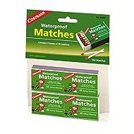 Coghlan's 940BP Waterproof Matches,  4 pack