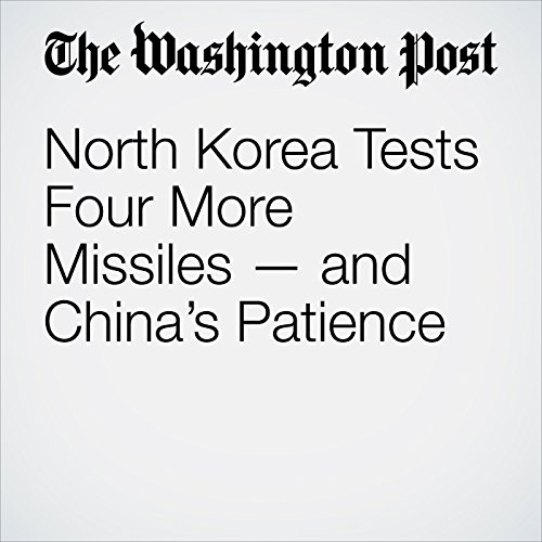 North Korea Tests Four More Missiles — and China's Patience copertina