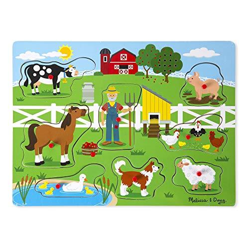 Melissa & Doug Old MacDonald s Farm Sound Puzzle