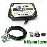 Kit Ethanol E85 4-cylindres, 4cyl E85 Kit de Conversion Carburant Alternatif à l'éthanol avec démarrage à Froid, biocarburant E85, Voiture à l'éthanol, convertisseur de bioéthanol (Nippon Denso)