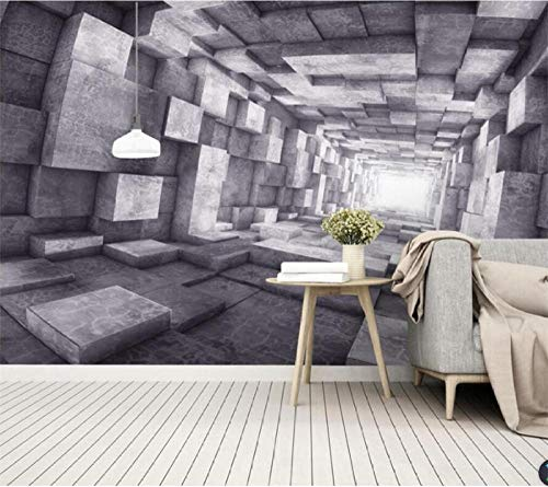 Papel De Parede Personalizado 3D Europeu Retro Extensão Túnel Espacial Sala De Estar,Sofá,Tv,Fundo,Parede,Decoração,Parede,Mural,Parede,350(W)*256(H)Cm