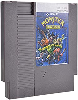 in My Pocket 72 Pin 8 Bit Game Card Cartridge for NES - Games Accessories Cartridge For Nintendo - 1 x Monster in My Pocke...