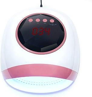 Uñas Secador 72w Nail Dryer Lámpara Uv Led Lámpara De Uñas Para Todos Los Geles Pulido Lámpara De Luz Secadora Infrarrojo Temporizador De Detección Smart Lcd Display Manicura Manicura Manicura