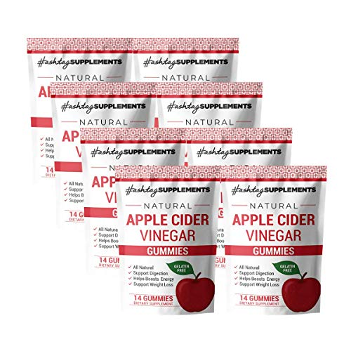 Apple Cider Vinegar Gummies Supplement 1000mg, (1 Month Supply) with Pomegranate and Beet Juice, ACG Gummy Vitamins to Aid Weight Loss and Natural Energy, Apple Flavor (56 Total Gummies) (112)