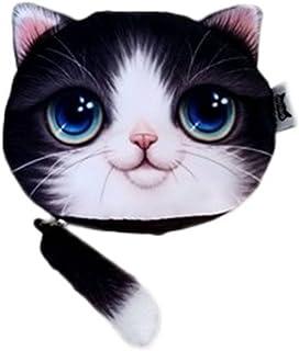 Xiang Ru 小銭入れ コインケース レディース オシャレ 財布 かわいい 猫 カード収納 プレゼント