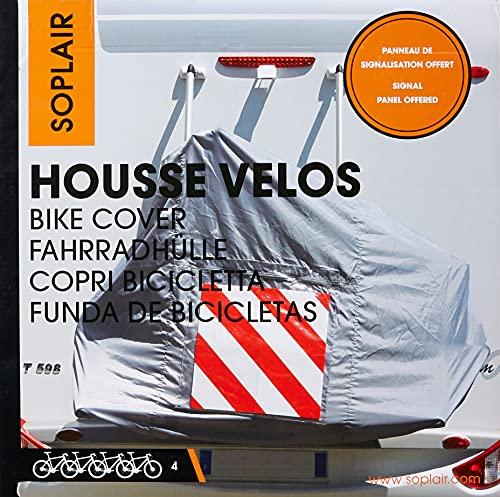 Lavi HO161 - Funda de protección para 4 Bicicletas