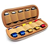 Flash Drive Case, USB Holder Organizer with Elastic Band 10 Capacites, Electronic Accessory Storage Bag for Bulk Thumb Drives Memory Sticks Swivel Jump Drives (Not Included)
