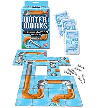 Big Game Toys~Water Works Card Game Leaky Pipe Toy Plumber Metal Wrenches Classic 1970s Sealed