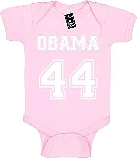 President Barack Obama Baby Onesie Unisex T-Shirt Infant Novelty (Obama 44)
