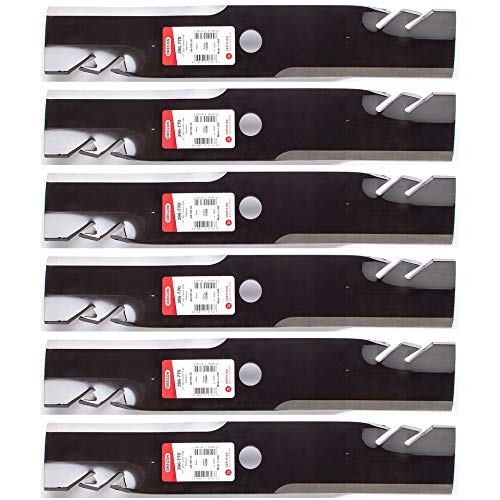 Gator Mulcher G6 Blade for 48-Inch Cut for 7-Iron Deck on John Deere Lawn Mowers - Oregon 396-770