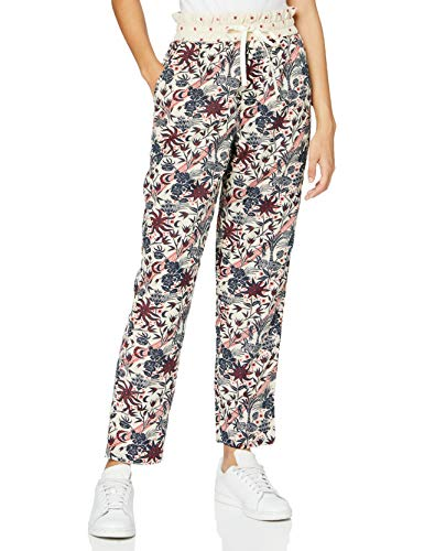 Scotch & Soda Maison Womens Viscose mix track pants in various prints Sweatpants, Combo B-0218, XS